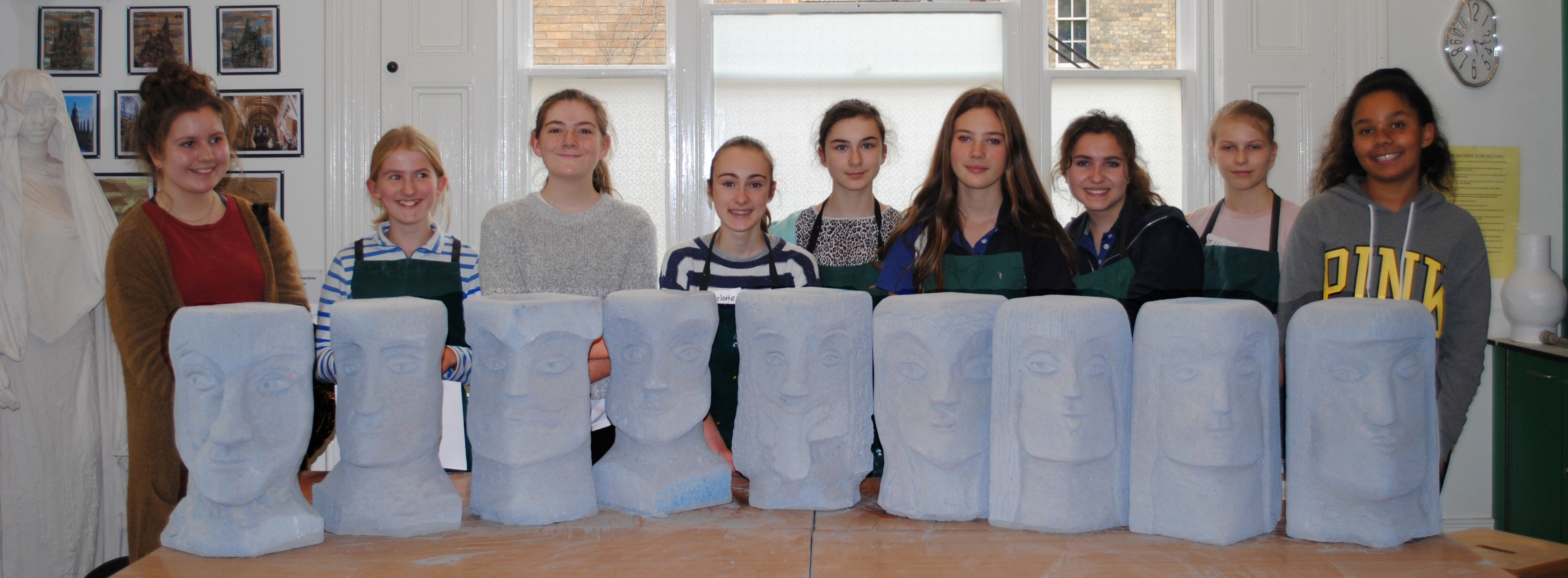 Stone-carving scholars
