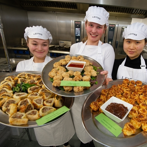 Students pass culinary courses with flying colours