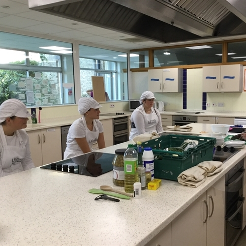 Budding chefs start Leiths course