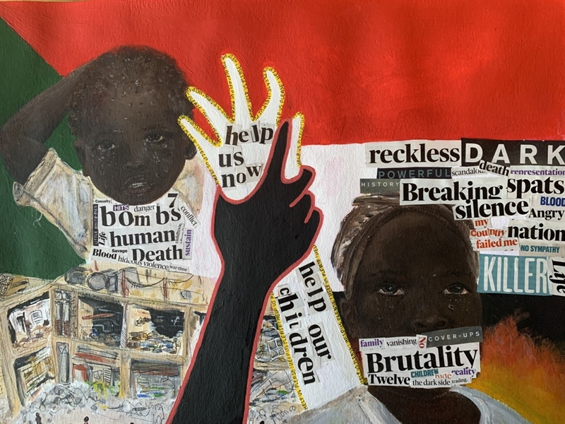 Art scholar 'highly commended' in human rights competition