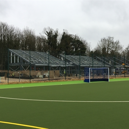 Not Long to go! Sports Pavilion on track for summer completion