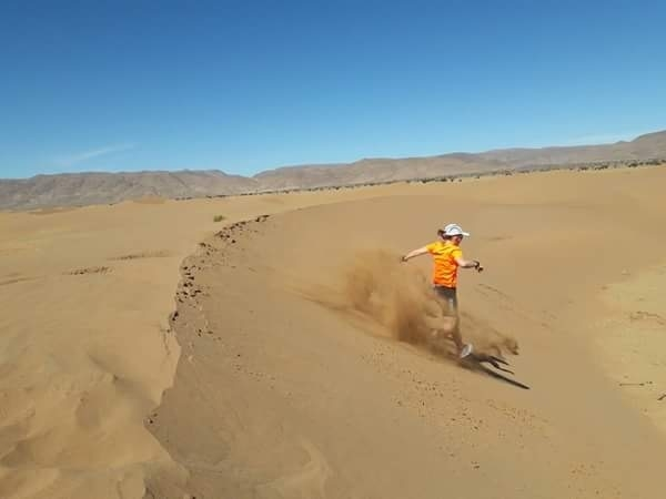 Miss Lees' Marathon Des Sables success!