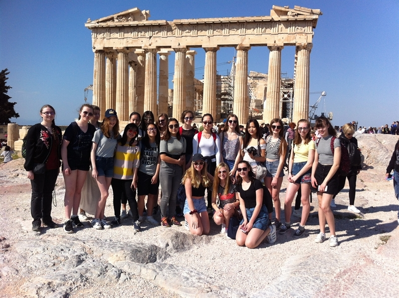 Classics department trip to Greece
