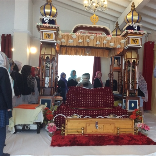 Year 3 visits Cambridge Gurdwara