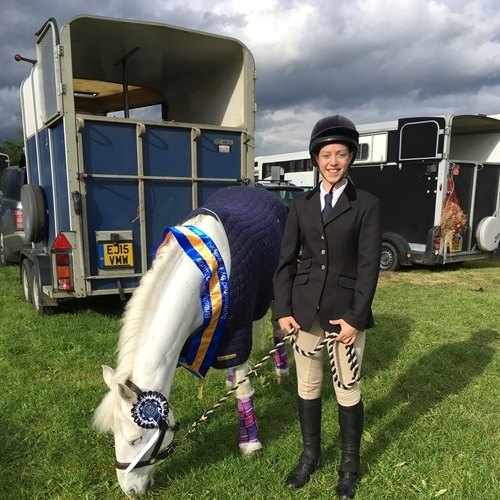 Success for Ellie M. at the British Riding Clubs' National Championships
