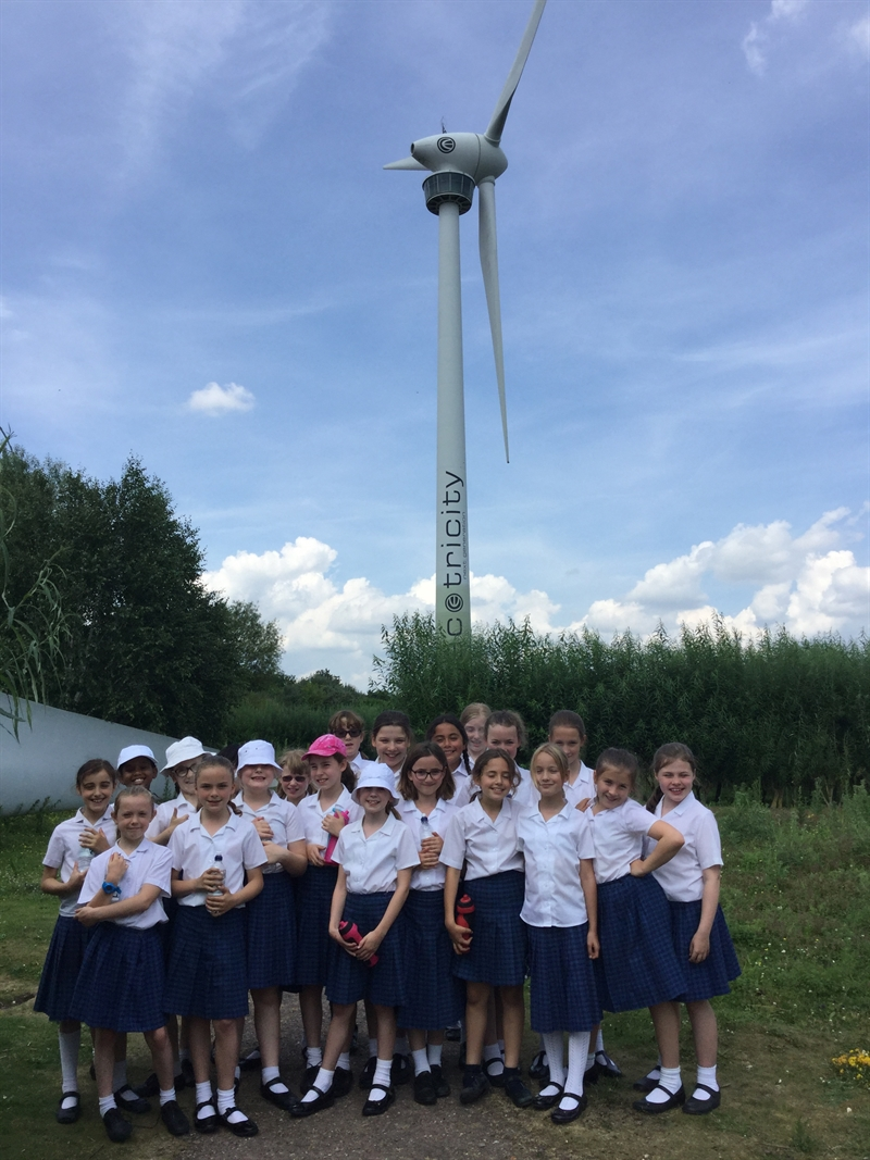 Year 5 girls visit Green Britain Centre