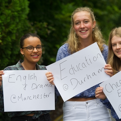 Curious, creative and confident students celebrate A Level results