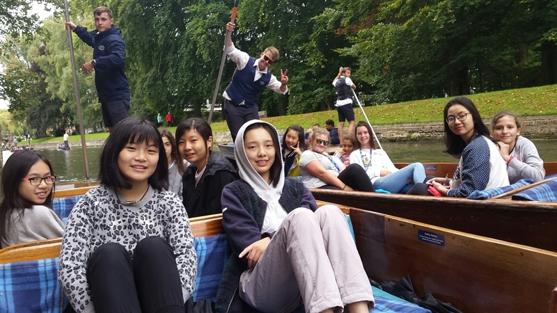 A traditional Cambridge welcome for our boarders