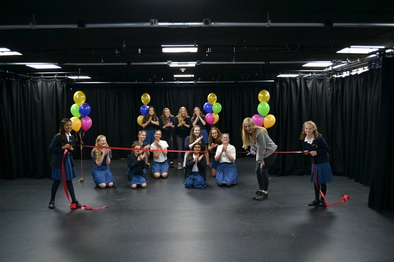 Brand new drama studio enhances potential for our arts students