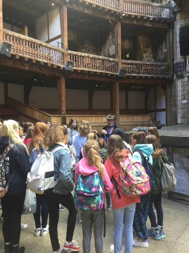 Students return to Shakespearean times