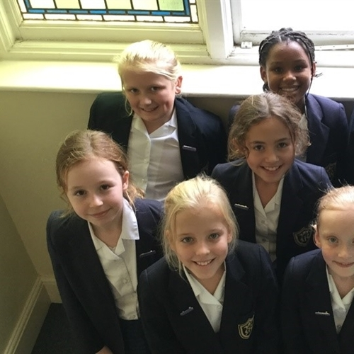 Year 5 and Year 6 girls form new Faith Council