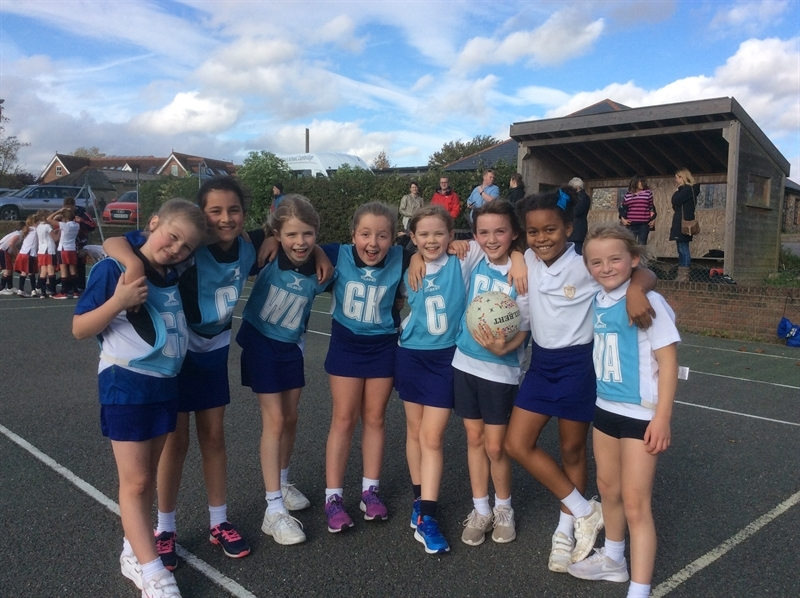 Netball success across the school