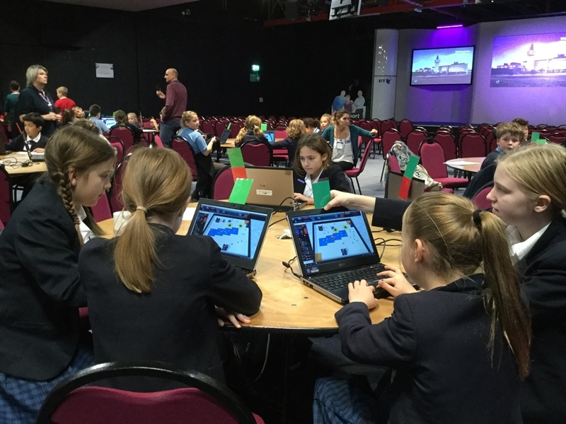 CoSpace Virtual Robotics Taster Day for Year 6