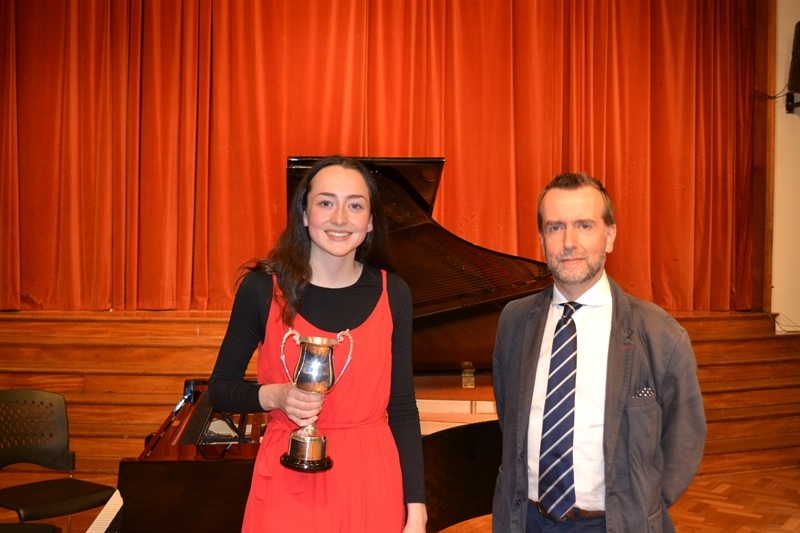 Celebration of our finest musical talent with a Sixth Form winner!