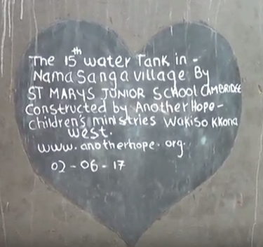 Junior School pupils raise funds for water tanks for Ugandan families