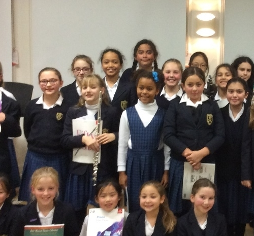 Junior School pupils display great musical talent