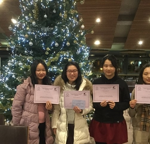 Mathematical success for Sixth Form students