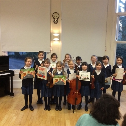 Musical activity at the Junior School