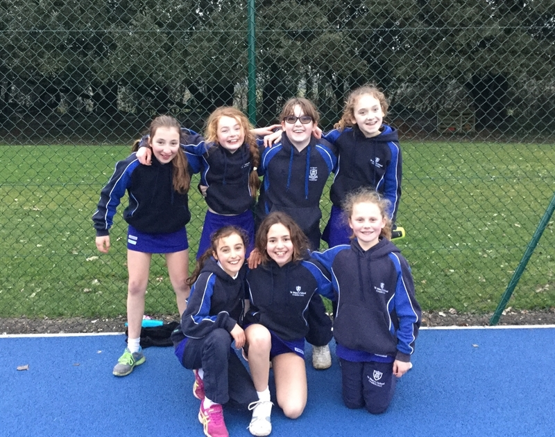 Junior pupils compete at County Netball Tournament