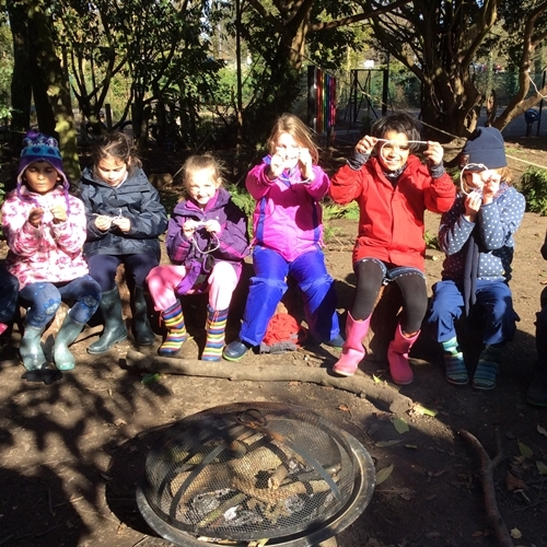 Year 3 pupils embark on their second Forest School afternoon