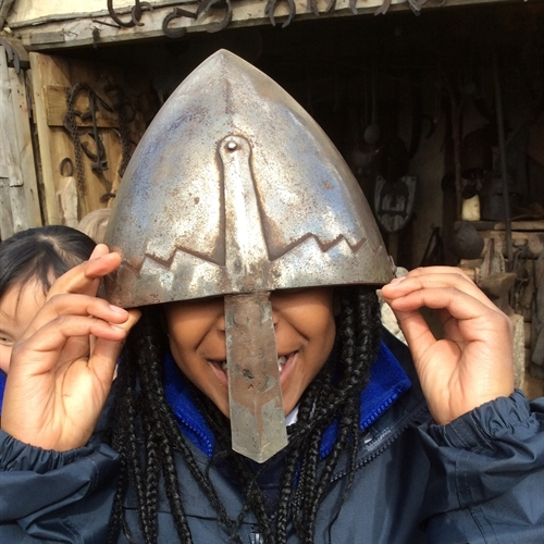 Year 2 learn about the Normans at Mountfitchet Castle
