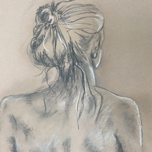 Students broaden their art skills with life drawing classes