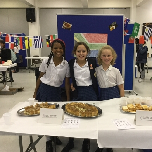 Globetrotting gastronomy at our annual International Food Fair