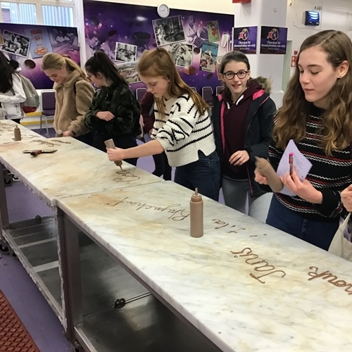 Year 8 enter the world of chocolate making at Cadbury World