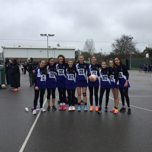 U14 netball team represent Cambridgeshire in East Regional Netball Tournament