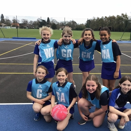 Year 5 triumph in netball tournament hosted at St Faith's