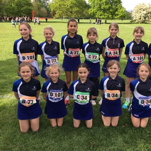 Year 5 compete in Cambridgeshire Primary Schools Cross County Championships