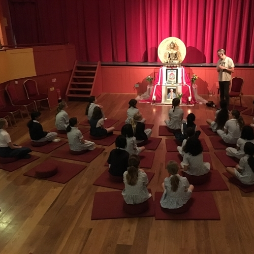 Year 4 visit the Cambridge Buddhist Centre