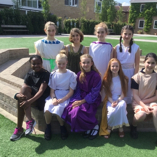 Year 8 compete in 'ludi scaenici' Latin play competition