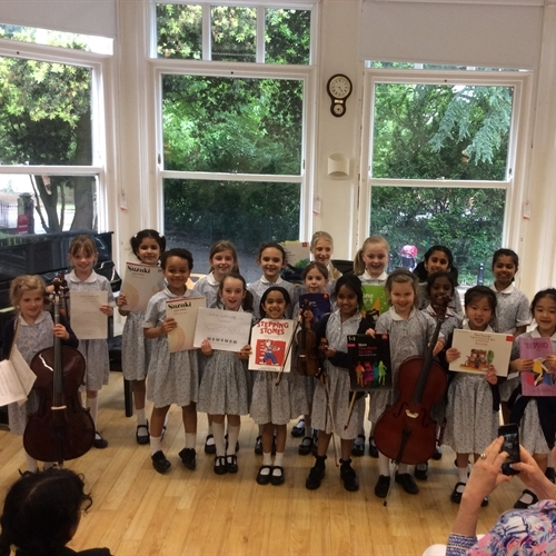Years 1 - 3 perform at final Teatime Concert of the year
