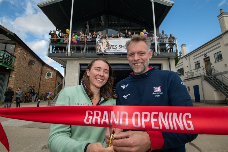 New boathouse heralds new era of rowing excellence for St Mary's girls