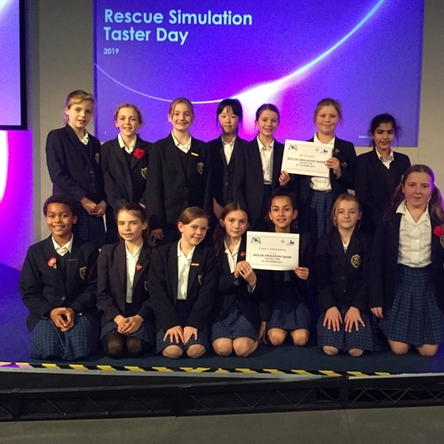 Junior School coders celebrate success at Rescue Simulation Taster Day