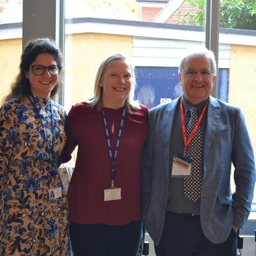 Professor Rapley visits St Mary's