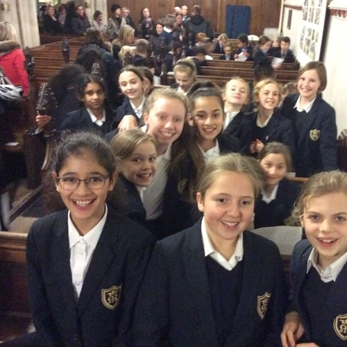 Year 5 and 6 Chamber Choir performs at Rotary Club Christmas Concert