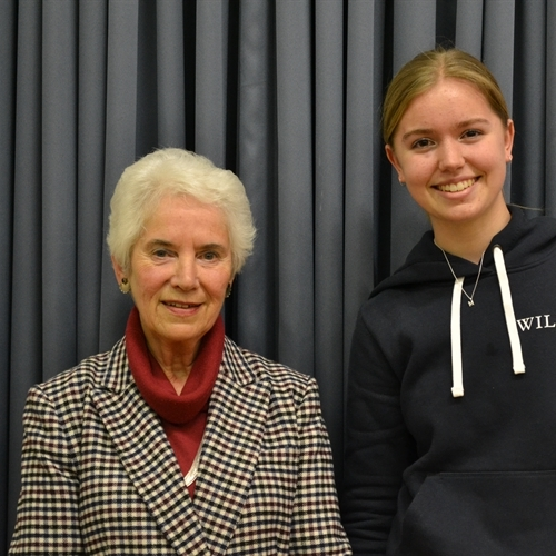 St Mary's girls moved by Holocaust survivor's story