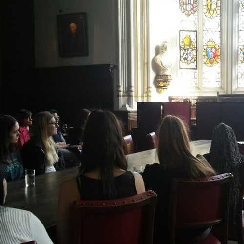 Sixth Formers learn life lessons at a 'Learning Lunch'