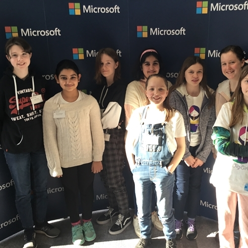 Computer Scientists take part in DigiGirlz event