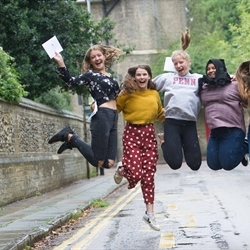 A Level Results Day 2018