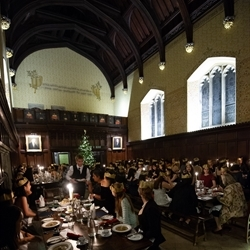 December 2018 - Boarders' Christmas Dinner at Peterhouse College, Cambridge University