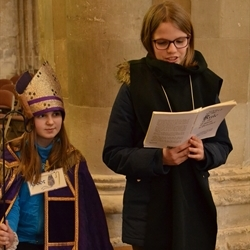 January 2019 - Year 7 trip to St Albans Cathedral