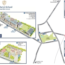 St Mary's School Location